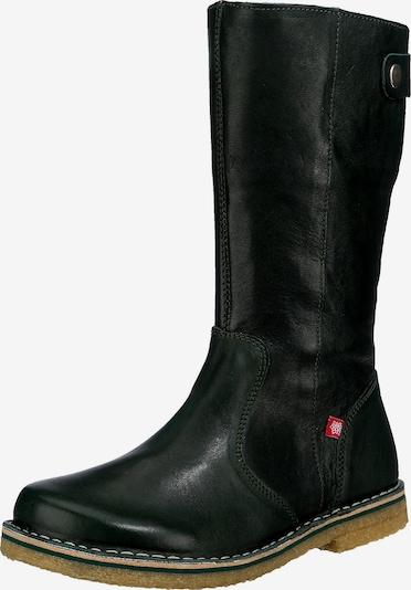 Grünbein Schuh in dunkelgrün, Produktansicht