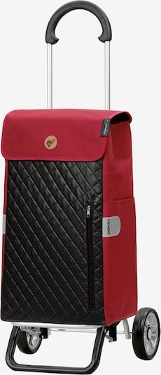 Andersen Shopper Einkaufstrolley 'Mari' in rot / schwarz, Produktansicht