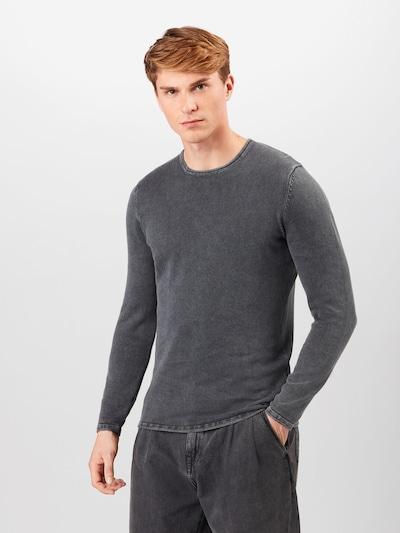 Only & Sons Pullover i gråmeleret, Modelvisning