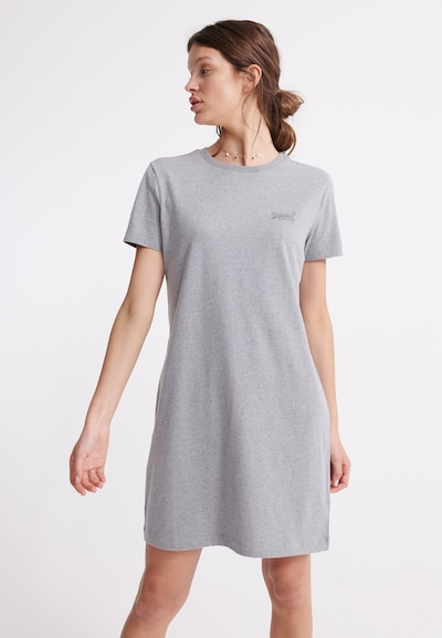 Superdry Kleid in grau, Modelansicht