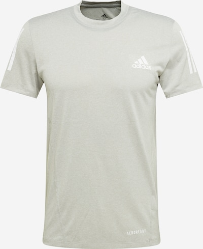 ADIDAS PERFORMANCE Shirt 'AEROREADY TEE' in hellgrau, Produktansicht