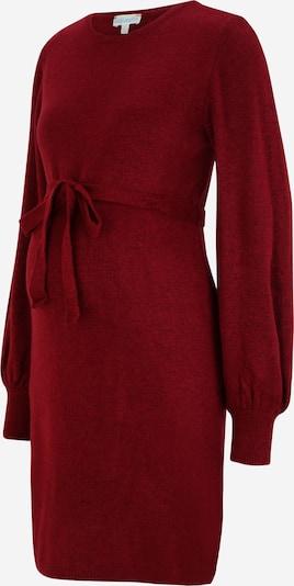 Rochie tricotat JoJo Maman Bébé pe roşu închis, Vizualizare produs