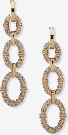 Cercei Lauren Ralph Lauren pe auriu / alb, Vizualizare produs