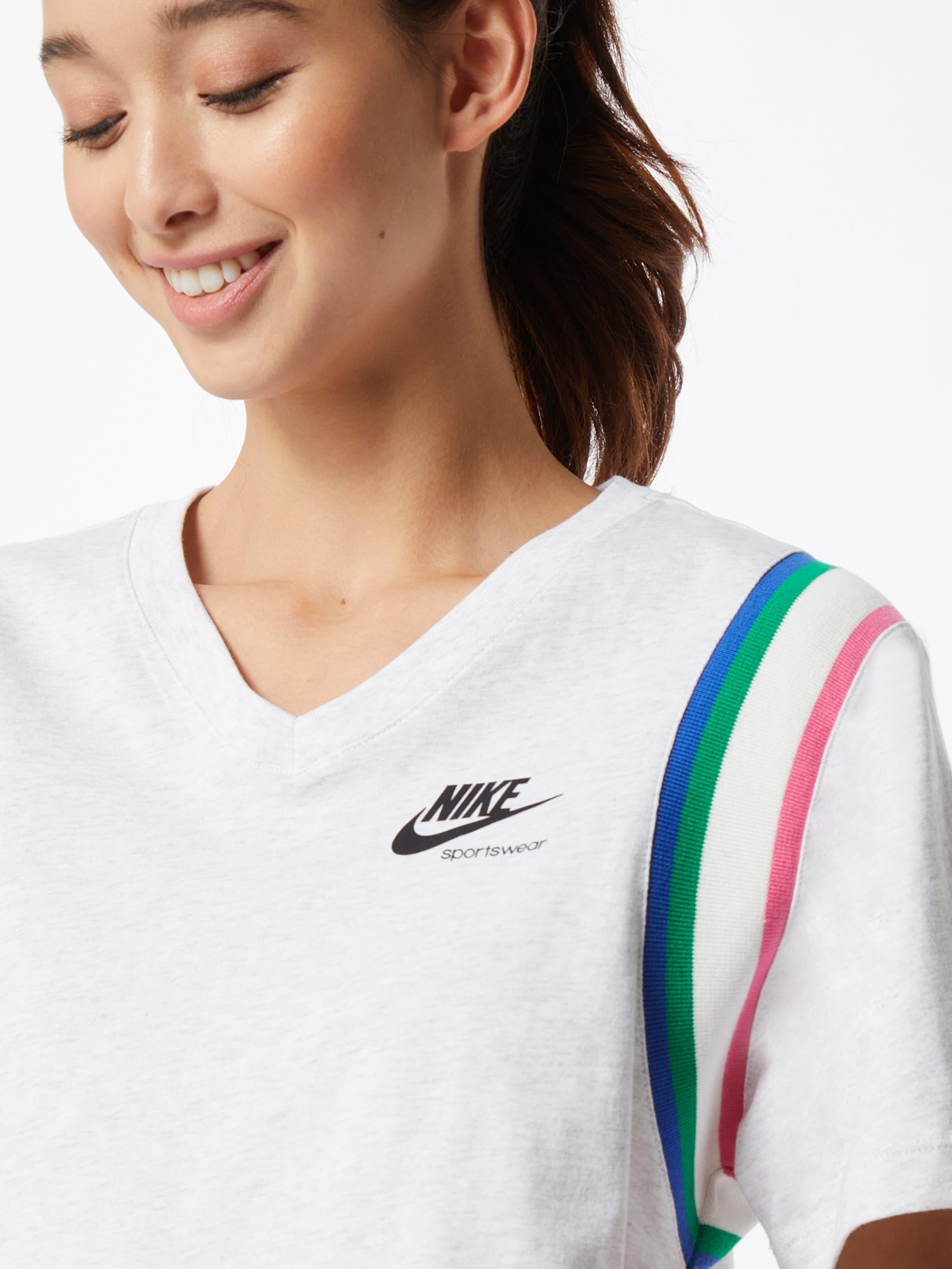 Nike Sportswear Póló fehér színben