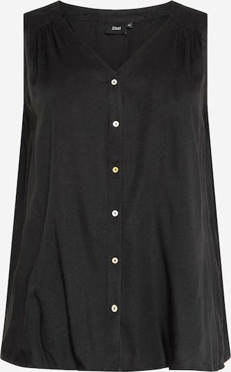 Zizzi Bluzka 'LIA' w kolorze czarnym, Podgląd produktu