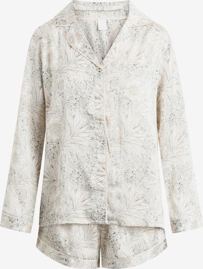 CCDK Copenhagen Pyjama in beige / hellgrau, Produktansicht