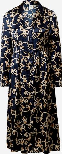 ICHI Košulja haljina u mornarsko plava / žuta, Pregled proizvoda