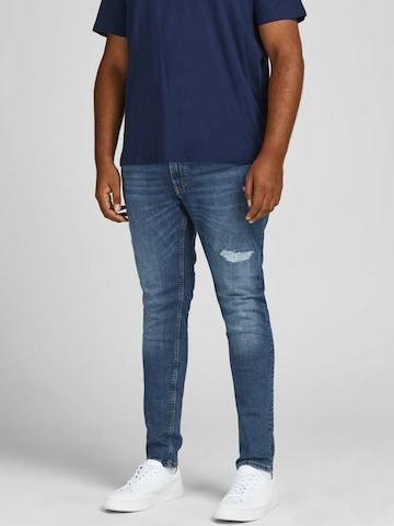 Jack & Jones Plus Teksapüksid 'Liam', värv sinine
