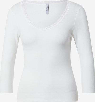 Hailys Shirt 'Lona' in offwhite, Produktansicht