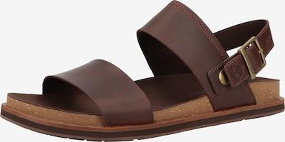 TIMBERLAND Sandales en marron châtaigne, Vue avec produit