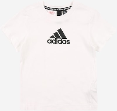 ADIDAS PERFORMANCE Sportshirt in schwarz / weiß, Produktansicht