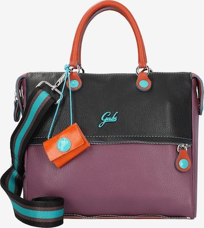 Gabs Handtasche in orange / weinrot / schwarz, Produktansicht