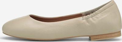 COX Ballerinas aus Leder in beige, Produktansicht