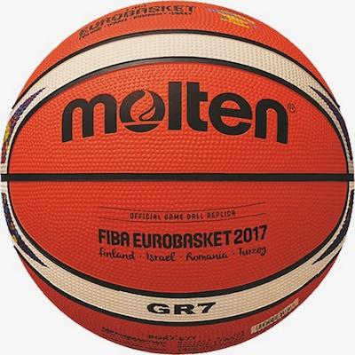 molten Basketball 'Euro 2017 BGR7' in hellgelb / orange / schwarz, Produktansicht