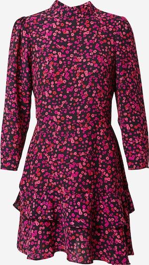 Dorothy Perkins Kleid in pink / pitaya / dunkelpink / schwarz: Frontalansicht