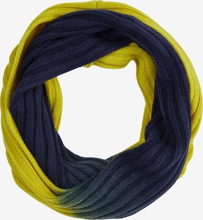s.Oliver Sjaal in de kleur Donkerblauw / Lichtgeel, Productweergave