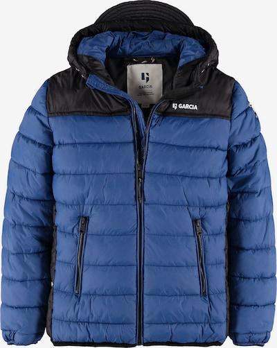 Garcia Jeans Winterjacke in blau / schwarz / weiß, Produktansicht