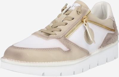 bugatti Låg sneaker 'Nicki' i mörkbeige / vit, Produktvy