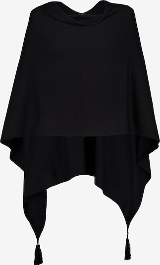 Gina Laura Cape in schwarz, Produktansicht
