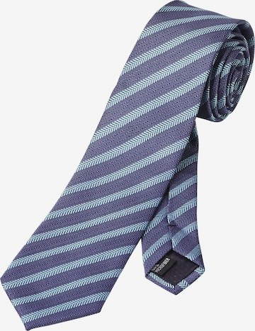 Cravate 'Lord Nialle' Charles Colby en bleu