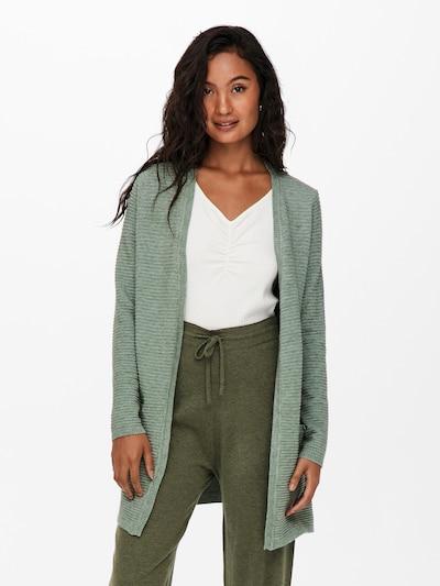 ONLY Strickjacke 'Katia' in grün, Modelansicht