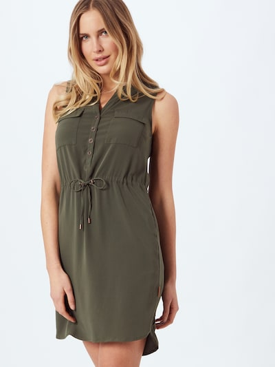 Ragwear Košilové šaty 'Roisin' - khaki, Model/ka