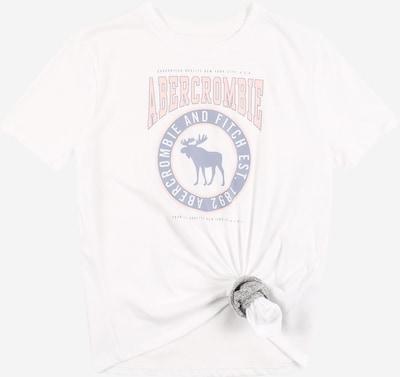 Abercrombie & Fitch Camiseta en azul claro / rosa claro / blanco, Vista del producto