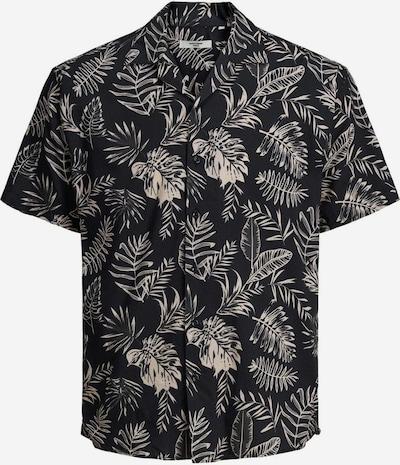 JACK & JONES Krekls, krāsa - gaiši bēšs / melns, Preces skats