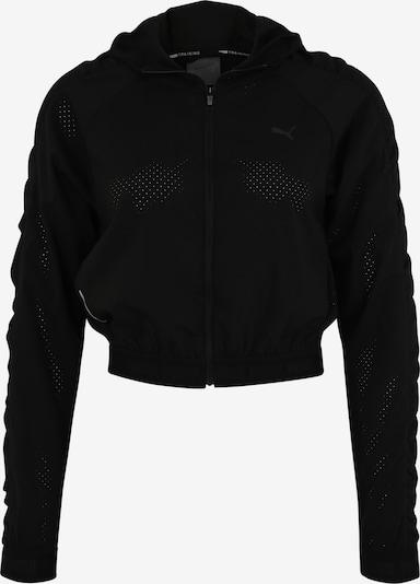 PUMA Športna jakna 'Be bold' | črna barva, Prikaz izdelka