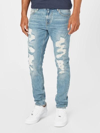 GUESS Jeans 'CHRIS' i blue denim, Modelvisning