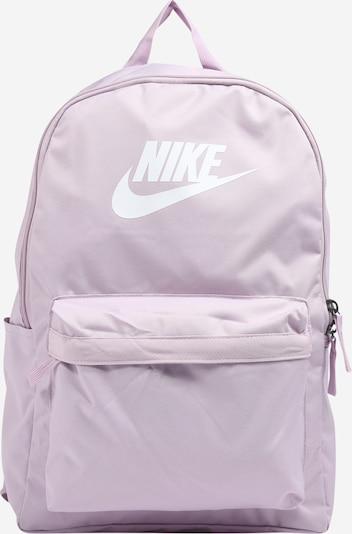 Nike Sportswear Rucksack 'Heritage 2.0' in helllila / weiß, Produktansicht