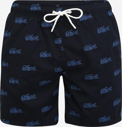 LACOSTE Plavecké šortky - námornícka modrá / svetlomodrá, Produkt
