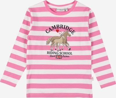 SALT AND PEPPER Shirt in de kleur Pink / Wit, Productweergave