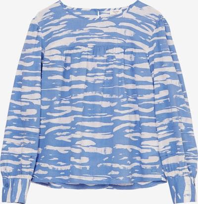 Marc O'Polo DENIM Bluse in himmelblau / weiß, Produktansicht