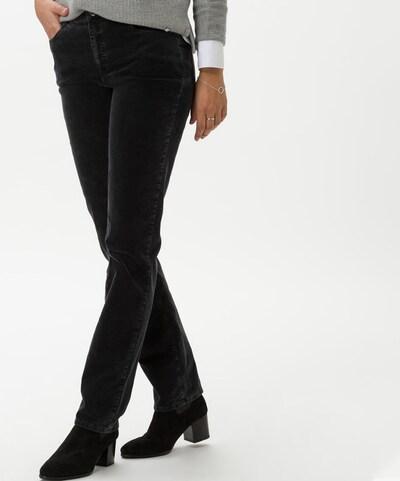 BRAX Hose 'CAROLA' in dunkelgrau, Modelansicht