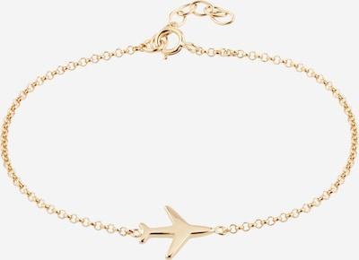 ELLI Armband 'Flugzeug' in gold, Produktansicht