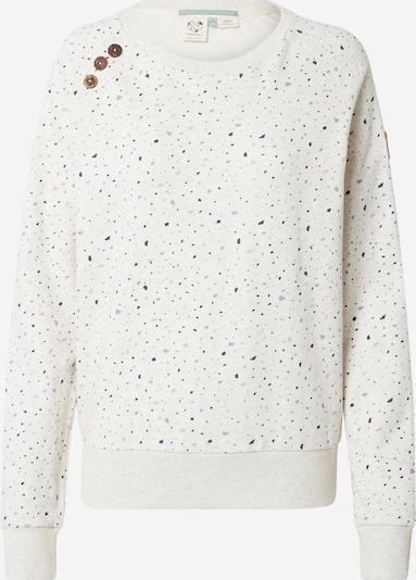 Ragwear Sweatshirt 'JOHANKA' in mottled beige / Navy / Light blue / Pink, Item view