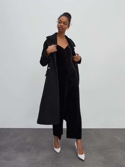 EDITED Kombinezon 'Vanessa' | črna barva, Prikaz modela