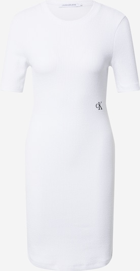 Abito Calvin Klein Jeans di colore bianco, Visualizzazione prodotti
