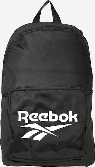 REEBOK Sac à dos en noir / blanc, Vue avec produit