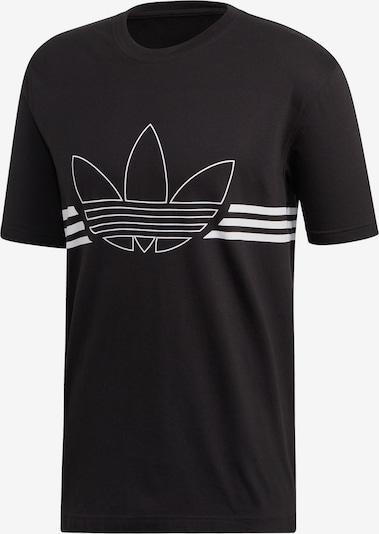 ADIDAS ORIGINALS Tričko 'Outline' - čierna / biela, Produkt
