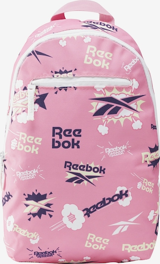 REEBOK Rucksack in indigo / hellpink / weiß, Produktansicht
