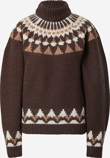 LeGer by Lena Gercke Širok pulover 'Mia' | rjava barva, Prikaz izdelka