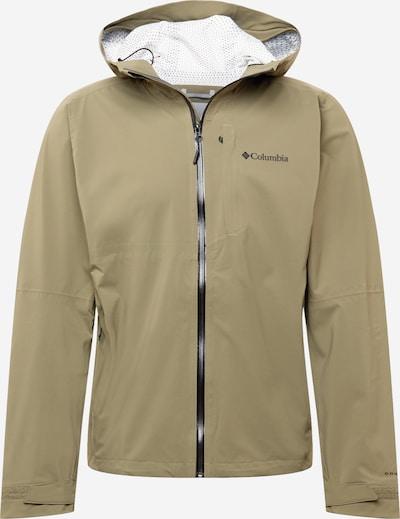 COLUMBIA Jacke in oliv / schwarz, Produktansicht