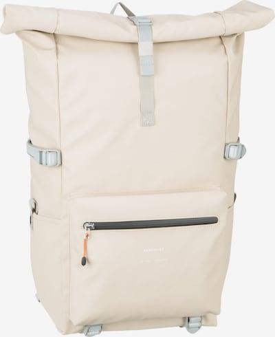 SANDQVIST Rucksack 'Ruben' in creme / grau, Produktansicht
