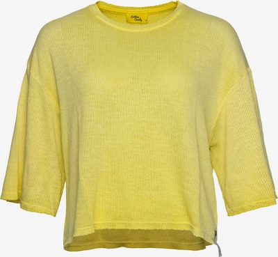 Cotton Candy Strickpullover 'NEETA' in gelb, Produktansicht