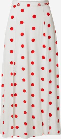 Tommy Jeans Sukně - červená / bílá, Produkt