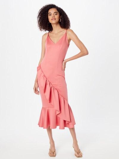 Chi Chi London Kleid in hellpink, Modelansicht
