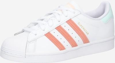 Sneaker low 'SUPERSTAR W' ADIDAS ORIGINALS pe portocaliu somon / alb, Vizualizare produs