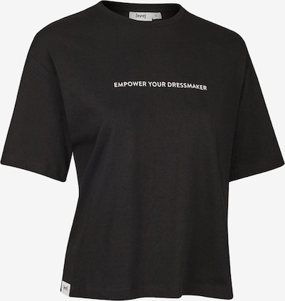 Eyd Clothing T-Shirt ' Cropped T-Shirt Empower ' in schwarz, Produktansicht
